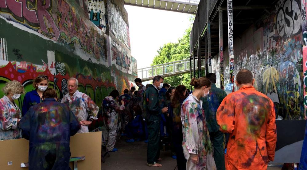 Slide 3: Workshop Graffiti