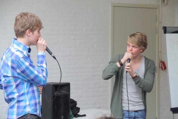 Workshop Beatboxen Bedrijfsuitje